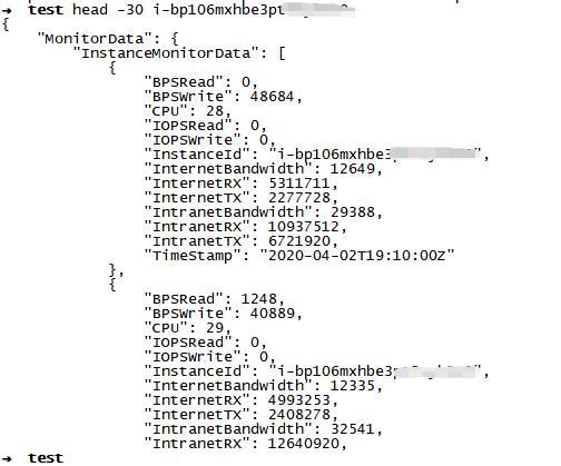 使用OpenAPI批量获取阿里云实例监控数据